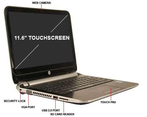 لپ تاپ استوک HP 210 G1