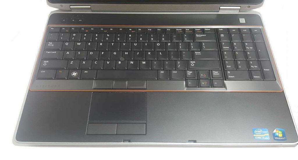 کیبورد و صفحه لمس- لپ تاپ استوک Dell Latitude E6520