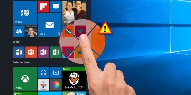 تعمیر صفحه لمسی در ویندوز 10